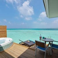 Kandima maldives deck aqua vila with swirpool