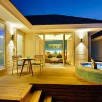 Kandima maldives deck noite aqua vila with swirpool