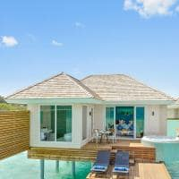 Kandima maldives exterior aqua vila with swirpool