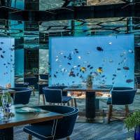 kihavah sea underwater dining