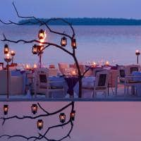 kihavah special events beach dining