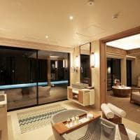 Kuda villingili interior water villa with pool