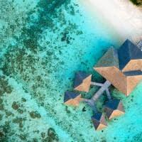 Le meridien maldives vista aerea spa