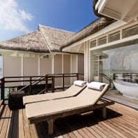 Lux south deck water villa