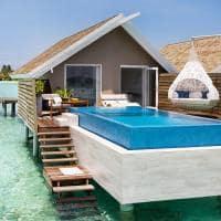 Lux south romantic pool water villa