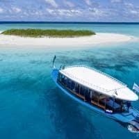 Mercure maldives kooddoo banco de areia