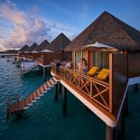 Mercure maldives kooddoo exterior da overwater sunset villa