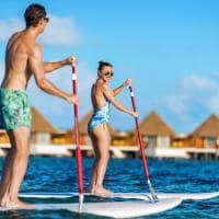 Mercure maldives kooddoo standup paddle