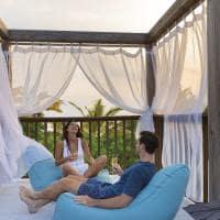 Movenpick beach pool suite sunset