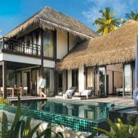 Outrigger konotta maldives resort pool villa