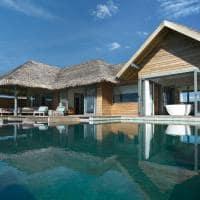Overwater Pool Suite Exterior Vakkaru Maldives