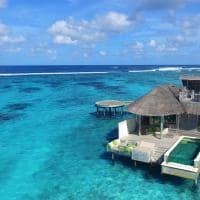 Overwater villa with pool no Six Senses Laamu