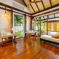 Ozen reserve bolifushi banheiro earth pool villa