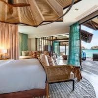 Ozen reserve bolifushi quarto ocean pool suite with slide