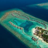 Ozen reserve bolifushi vista aerea villas