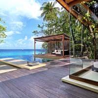 Park hyatt maldives hadahaa deluxe park pool villa deck