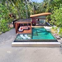 Park hyatt maldives hadahaa deluxe park pool villa exterior