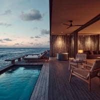 Patina maldives deck one bedroom water pool villa