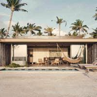 Patina maldives exterior one bedroom sunset beach pool villa