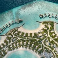Patina maldives vista aerea