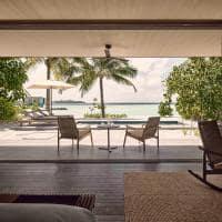 Patina maldives vista one bedroom sunset beach pool villa