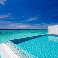 Piscina na Ocean Pool Villa, Finolhu