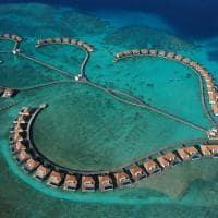 Radisson blu resort maldives vista aerea