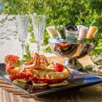 Raffles maldives meradhoo gastronomia