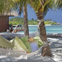 Rede na praia do Anantara Veli