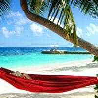 Rede praia, W Retreat Spa Maldives, Ilhas Maldivas