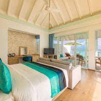 Siyam world maldives water villa with pool