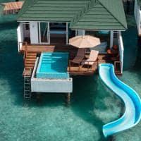 Siyam world villa with pool slide