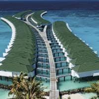 Siyam world water villas
