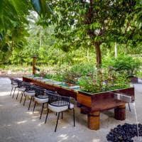 St regis maldives vommuli elements dinning table