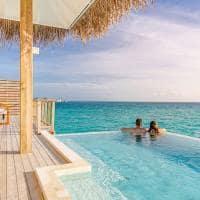 Sun siyam iru veli piscina ocean suite with pool