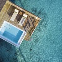 Sun siyam olhuveli grand water villa with pool aereo