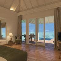 Sun siyam olhuveli grand water villa with pool quarto