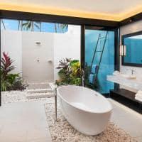 The westin maldives banheiro beach pool villa