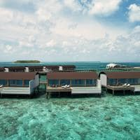 The westin maldives exterior overwater pool villa