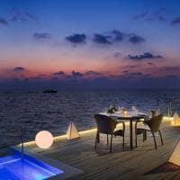 The westin maldives refeicao na villa