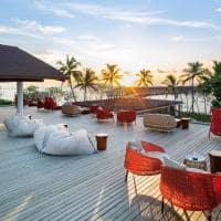 The westin maldives sunset bar