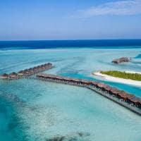 Vista aérea do Anantara Veli Maldives Resort