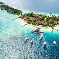 Waldorf astoria maldives ithaafushi arrival pier