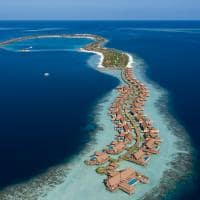 Waldorf astoria maldives ithaafushi vista aerea