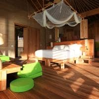 Water Villa six senses laamu