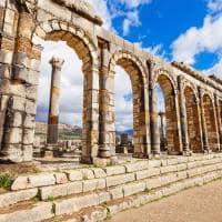 Cidade romana de Volubilis - Marrocos.