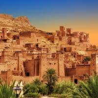 Montanhas Atlas - Ksar Ait Ben Haddou, Marrocos.