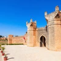 Portão de Chellah - Rabat, Marrocos.