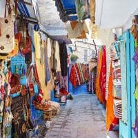 Souk de Chaouen - Marrocos.