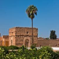 Túmulos Saadianos em Marrakech, Marrocos.